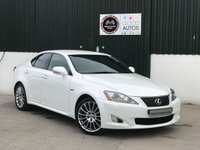USED 2011 LEXUS IS 2.5 250 F SPORT 4d AUTO 204 BHP LOW MILEAGE WITH A FULL LEXUS SERVICE HISTORY!!
