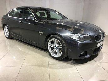 2014 BMW 5 SERIES 2.0 520D M SPORT 4d AUTO 188 BHP £19233.00