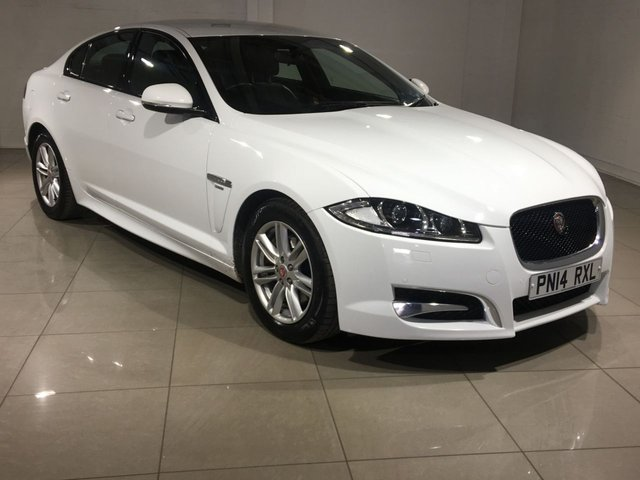 View our 2014 14 JAGUAR XF 2.2 D R-SPORT 4d AUTO 163 BHP
