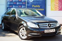 USED 2012 62 MERCEDES-BENZ C CLASS 2.1 C220 CDI BLUEEFFICIENCY EXECUTIVE SE 4d AUTO 168 BHP