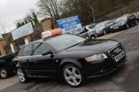 2006 AUDI A4 2.0 S LINE 4d 129 BHP £2690.00