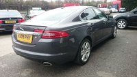 USED 2009 09 JAGUAR XF 2.7 PREMIUM LUXURY V6 4d AUTO 204 BHP