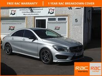 USED 2015 15 MERCEDES-BENZ CLA 2.1 CLA220 CDI AMG SPORT 4d AUTO 170 BHP Media Interface, Parking Sensors £30 Tax