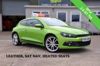 USED 2014 VOLKSWAGEN SCIROCCO 2.0 GT TDI 140 BHP *FULL LEATHER & SAT NAV* *FROM £179 MONTHLY*