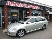 USED 2005 55 TOYOTA AVENSIS 2.2 T3 X D-4D 5d 148 BHP PART EXCHANGE TO CLEAR!!!
