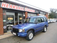 2002 LAND ROVER DISCOVERY 2.5 TD5 GS 7STR 5d 136 BHP £4000.00
