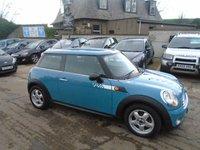 2007 MINI HATCH ONE 1.4 ONE 3d 94 BHP £4000.00
