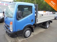 USED 2008 08 NISSAN CABSTAR 2.5 DCi DROPSIDE 35.13 SWB 130 BHP 6 Speed*53,000 MILES*