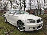 USED 2008 58 BMW 1 SERIES 2.0 120D M SPORT 3d 175 BHP