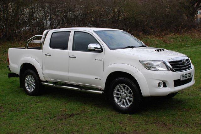 2012 62 TOYOTA HI-LUX INVINCIBLE 3.0 D-4D AUTO [170 BHP] 4WD DOUBLE CAB PICK-UP