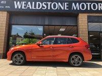 2013 BMW X1 2.0 SDRIVE18D M SPORT 5d AUTO 141 BHP £14995.00