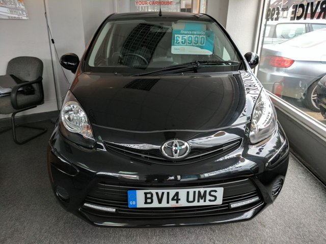2014 14 TOYOTA AYGO 1.0 VVT-I MOVE WITH STYLE MM 5d AUTO 68 BHP
