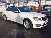 USED 2014 14 MERCEDES-BENZ C CLASS 2.1 C250 CDI AMG SPORT EDITION 4d AUTO 202 BHP 0% FINANCE AVAILABLE PLEASE CALL 01204 317705