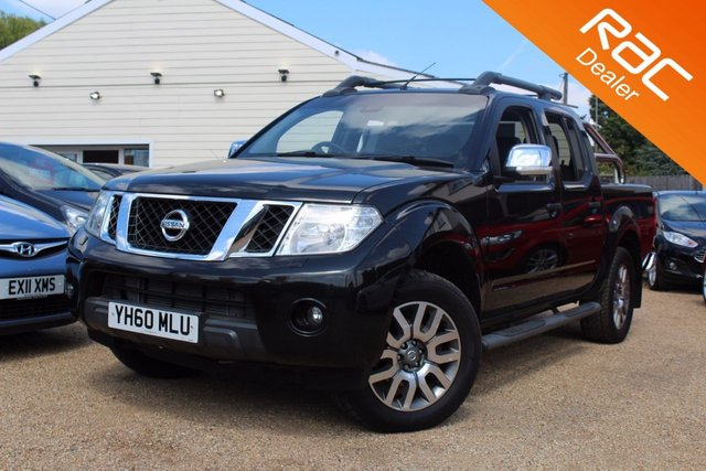 View our 2010 60 NISSAN NAVARA 3.0 OUTLAW DCI 4X4 DCB 1d AUTO 228 BHP