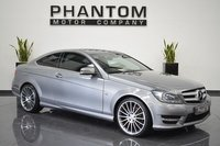 USED 2012 61 MERCEDES-BENZ C CLASS 2.1 C220 CDI BLUEEFFICIENCY AMG SPORT ED125 2d AUTO 170 BHP