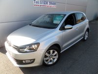 USED 2012 62 VOLKSWAGEN POLO 1.2 MATCH 5d 59 BHP 2 OWNERS FSH, AIR CON, BLUETOOTH