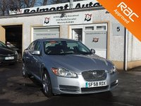 USED 2008 58 JAGUAR XF 3.0 PREMIUM LUXURY V6 4d AUTO 238 BHP 8 Main Dealer Stamps , Loaded with  features