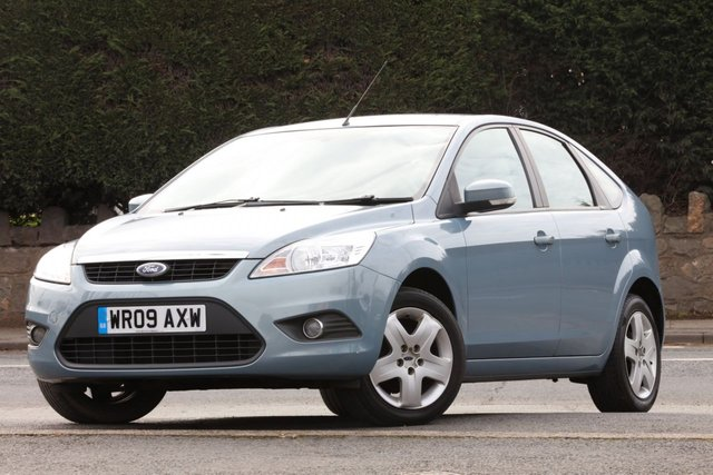 2009 09 FORD FOCUS 1.6 STYLE 5d 100 BHP