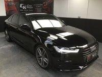 2015 AUDI A6 3.0 TDI QUATTRO S LINE BLACK EDITION 4d AUTO 268 BHP £30000.00