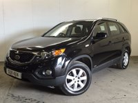 USED 2010 10 KIA SORENTO 2.2 CRDI KX-1 5d 195 BHP FACELIFT 7 SEATER 4WD. 7 SEATER. STUNNING BLACK MET WITH CONTRASTING BLACK CLOTH TRIM. 17 INCH ALLOYS. COLOUR CODED TRIMS. PARKING SENSORS. CLIMATE CONTROL. TRIP COMPUTER. R/CD PLAYER. 6 SPEED MANUAL. MFSW. MOT 03/18. ONE OWNER FROM NEW. SERVICE HISTORY. PRISTINE CONDITION. FCA FINANCE APPROVED DEALER. TEL 01937 849492
