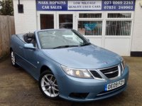 USED 2009 09 SAAB 9-3 1.9 VECTOR TID 2d AUTO 150 BHP 51K. FSH...TWO OWNERS... AUTOMATIC...BEAUTIFUL COLOUR COMBINATION...