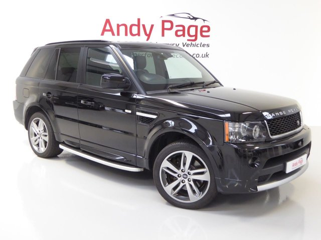 2012 62 LAND ROVER RANGE ROVER SPORT 3.0 SDV6 HSE RED 5d AUTO 255 BHP