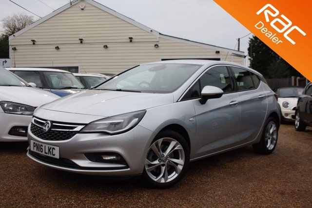 View our 2016 16 VAUXHALL ASTRA 1.6 SRI CDTI S/S 5d 134 BHP