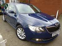 2014 SKODA SUPERB 1.6 SE GREENLINE III TDI CR 5d 104 BHP £9000.00