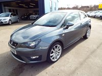 USED 2014 63 SEAT IBIZA 1.2 TSI FR 3d 104 BHP ONE OWNER FROM NEW