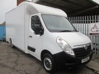 2013 VAUXHALL MOVANO F3500 LWB Low Loader Luton 125PS *BARN DOORS*ONLY 43k* £14495.00