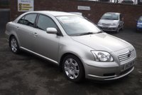 USED 2005 TOYOTA AVENSIS 2.0 T2 D-4D 4d 114 BHP