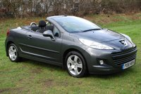USED 2011 61 PEUGEOT 207 CC 1.6 HDi SPORT [112 BHP] CONVERTIBLE