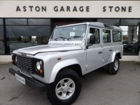 USED 2006 06 LAND ROVER DEFENDER 2.5 110 TD5 COUNTY ** 9 SEATER * NO VAT ** ** 9 SEATER **