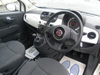 USED 2011 60 FIAT 500 1.2 LOUNGE 3d 69 BHP