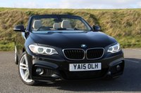 2015 BMW 2 SERIES 2.0 220D M SPORT 2d AUTO 188 BHP £21950.00