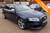 USED 2008 08 AUDI RS6 AVANT 5.0 RS6 AVANT TFSI QUATTRO 5d AUTO 572 BHP V10 Free 12 Month National Warranty Included
