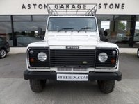 USED 2007 56 LAND ROVER DEFENDER 2.5 130 COUNTY HICAP DCB TD5 120 BHP ** HISTORY LOG **+ VAT **