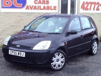 USED 2005 55 FORD FIESTA 1.25 Style 5dr FSH CD PLAYER ELECTRICS