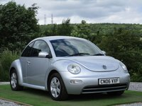USED 2006 06 VOLKSWAGEN BEETLE 1.6 3dr CD PLAYER ALLOYS ELECTRICS
