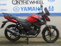 USED 2017 YAMAHA YS125 POWER RED *BRAND NEW FOR 2017* * FINANCE AVAILABLE*