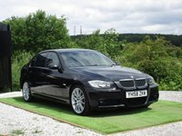 USED 2008 58 BMW 3 SERIES 3.0 325d M Sport 4dr FBMWSH CREAM HTD LEATHR BTOOTH