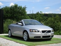 USED 2009 09 VOLVO C70 2.5 T5 SE Lux Geartronic 2dr FSH FULL ELECTRIC BLACK LTHR