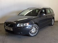USED 2009 09 VOLVO V50 2.0 D SE LUX 5d 136 BHP LEATHER CRUISE MOT 03/18 NOW SOLD.