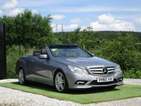 USED 2010 60 MERCEDES-BENZ E CLASS  2.1 E250 CDI BlueEFFICIENCY Sport 2dr FSH FULL BLK LTHR XENONS