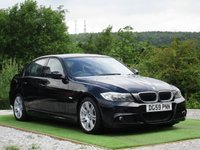 USED 2009 59 BMW 3 SERIES 2.0 318d M Sport 4dr FBMWSH 1/2 SUEDE M SPORT AUTO