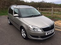 2012 SKODA ROOMSTER 1.6 SE PLUS TDI CR 5d 89 BHP £6490.00
