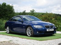 USED 2011 61 BMW 3 SERIES 3.0 330d M Sport 2dr FBMWSH LEATHER BI XENONS