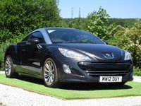 USED 2012 12 PEUGEOT RCZ 2.0 HDi Sport 2dr FSH AUX IN USB BLUETOOTH