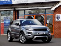 USED 2012 12 LAND ROVER RANGE ROVER EVOQUE 2.2 SD4 DYNAMIC 3d 190 BHP *ONLY 9.9% APR with FREE Servicing*