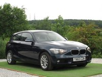 USED 2014 63 BMW 1 SERIES 2.0 120d SE Sports Hatch 3dr (start/stop) FBMWSH DABRADIO AUX USB BTOOTH
